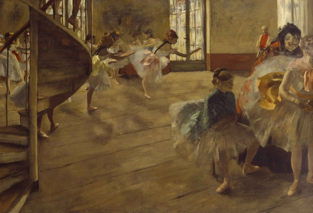Edgar Degas Lord Of The Dance The Independent