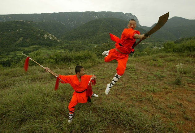 Why the kung-fu monks are losing their religion | The Independent
