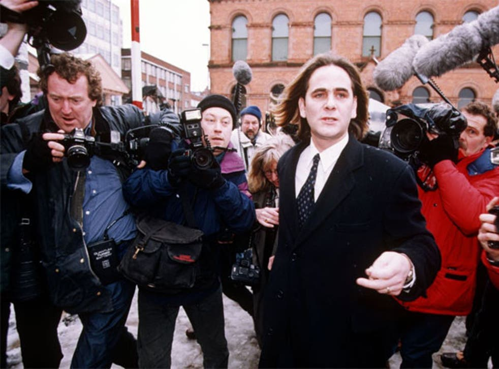 Paul Hill, one of the Guildford Four, was acquitted in 1989