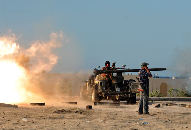 Intense fighting continues in Libya says Hague