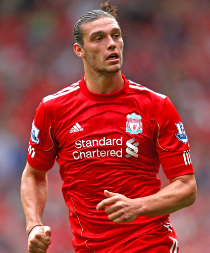 Andy Carroll is happy with the development of his  partnership with Luis Suarez