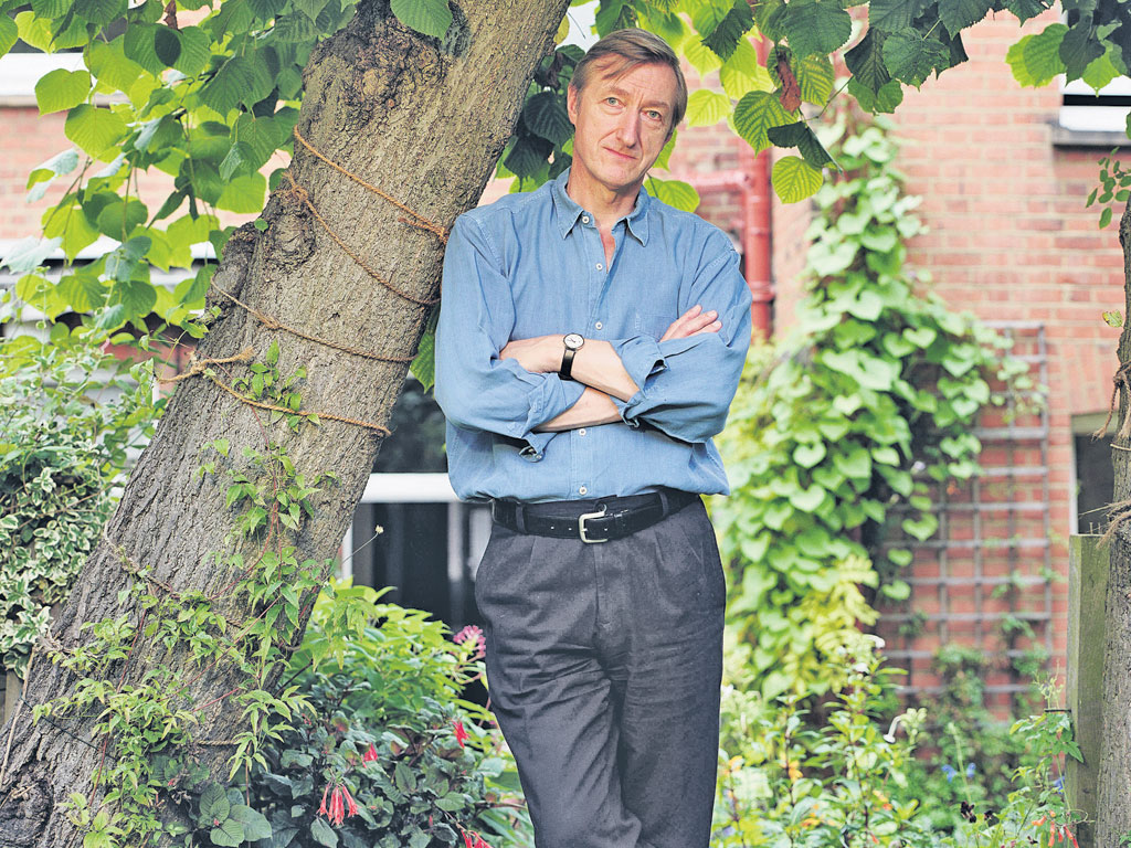 Waiting list: Julian Barnes had been shortlisted for the Booker three times before his triumph on Tuesday