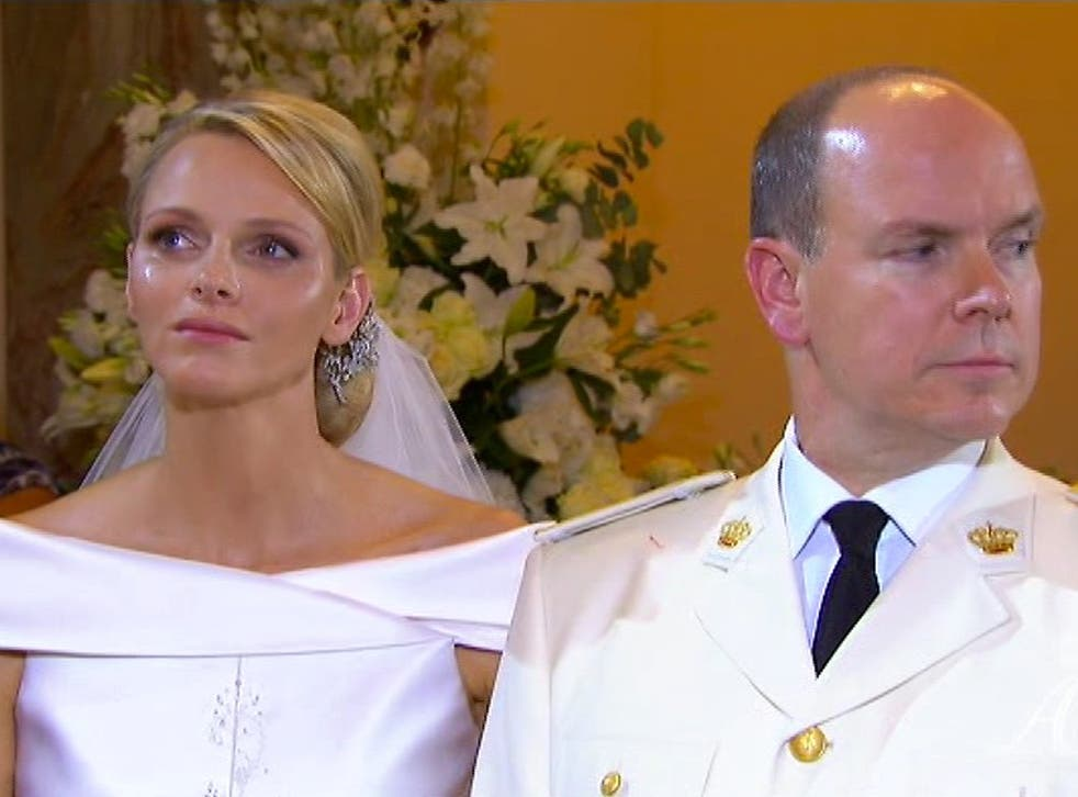 Prince Albert of Monaco and his wife, Princess Charlene, have accepted an offer of damages over a Sunday Times story which suggested she was reluctant to marry him