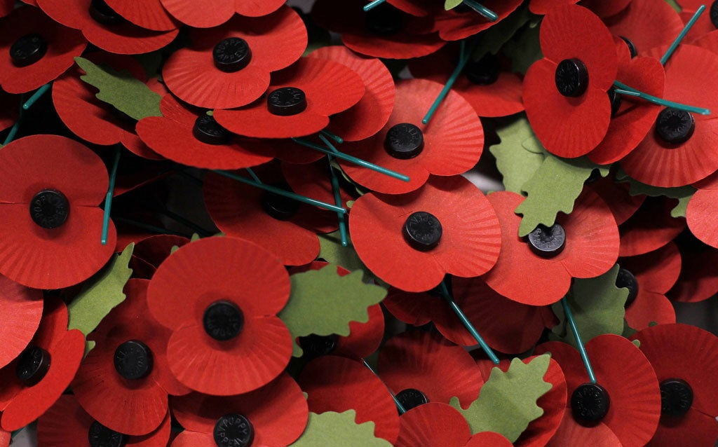 Poppy Appeal 2014: This is why I won't be wearing a red poppy this year