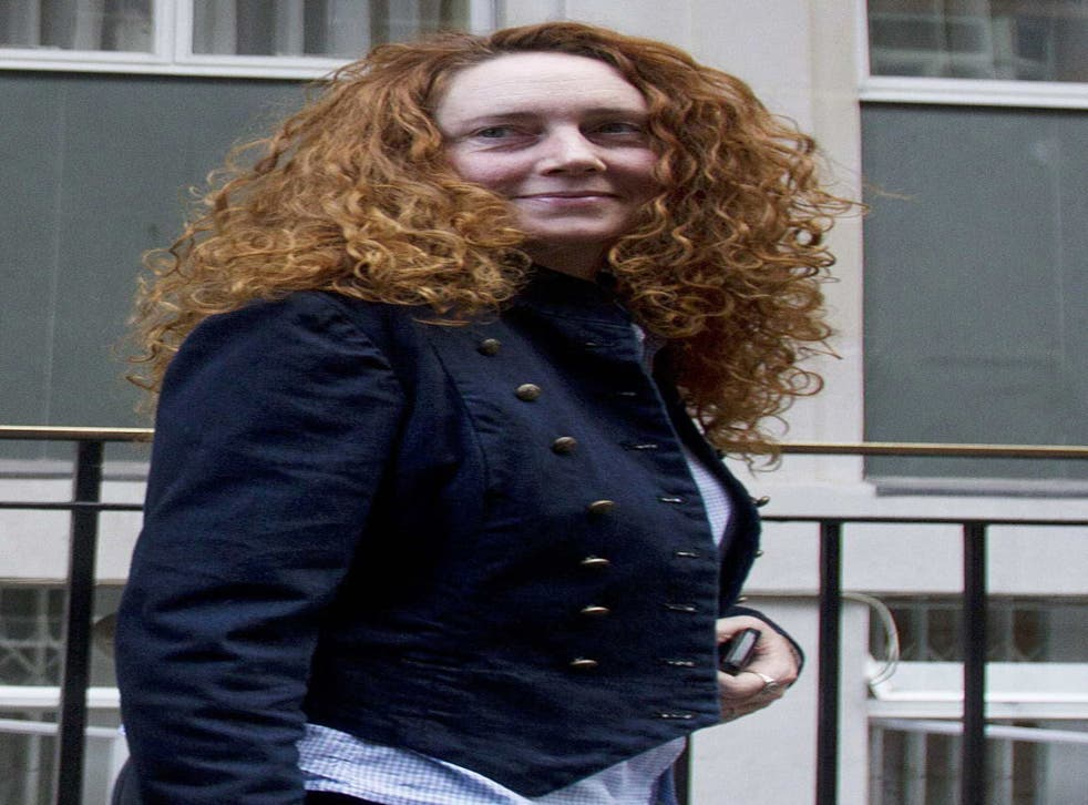 Rebekah Brooks: still has an office in London 'paid for by her former employer'