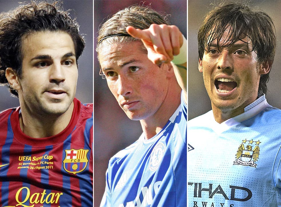 Cesc Fabregas, Fernando Torres and David Silva are just some of the talents that cannot force their way into Spain's first-choice XI