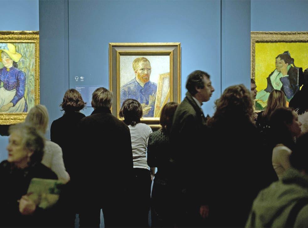 Last year's Van Gogh show at the Royal Academy