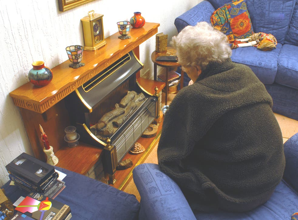 Pensioners are having to choose between heating or eating after a cut in the winter fuel payment from £250 to £200