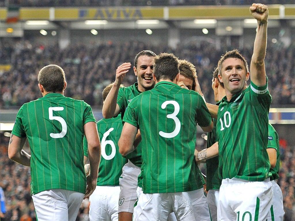 ставки на матч Ирландия Эстония