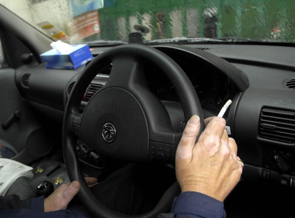 Evidence suggests smoking in a closed vehicle exposes the occupants to large amounts of harmful chemicals, the doctors reported