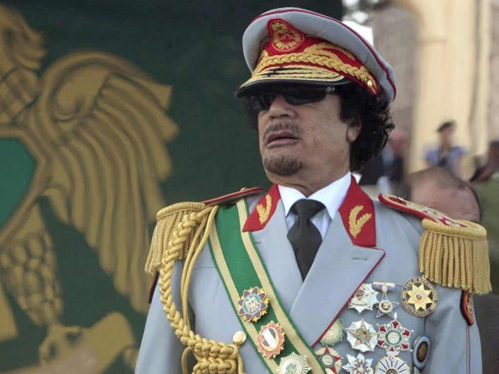 Gaddafi planned suicide attacks on British officials   The ...
