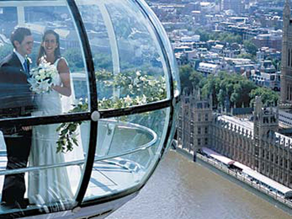 The 50 best wedding locations 1 25 the independent for Popular wedding registry locations