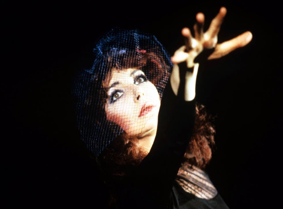 Wow factor: Kate Bush in concert in 1986