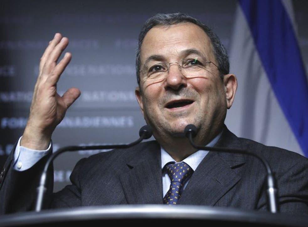 Israeli Defence Minister Ehud Barak called for stronger measures