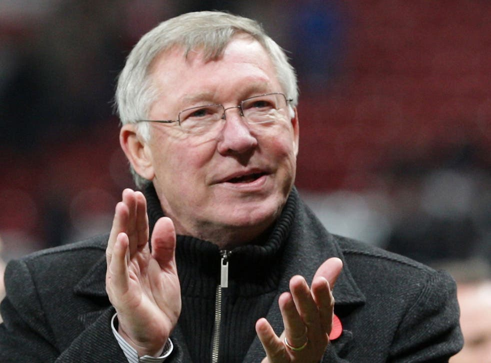 Sir Alex Ferguson: The United manager uses images of sacrifice to inspire teamwork
