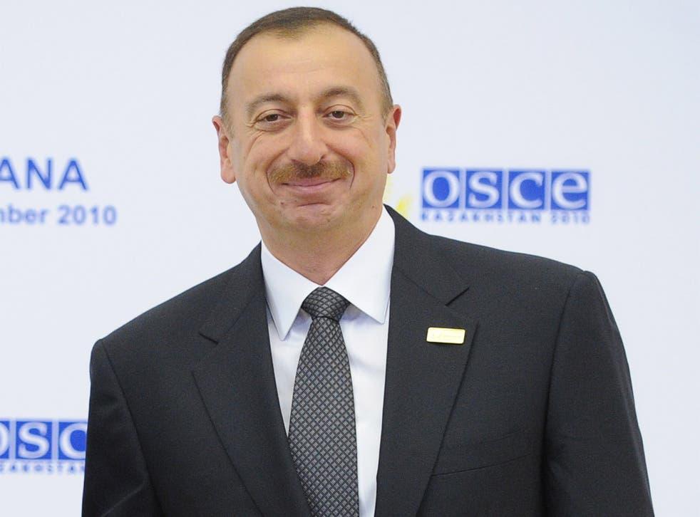 Azerbaijani President, Ilham Aliyev, has a 96 per cent approval rate, despite his hardline policies