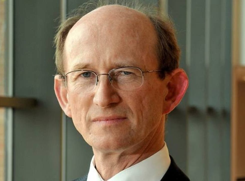 The UEA Vice-Chancellor, Prof Edward Acton, gave a press conference on the leak yesterday