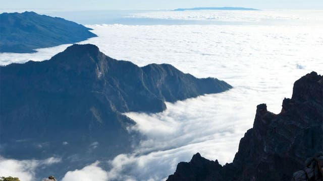 Cloud cover: the Caldera de Taburiente