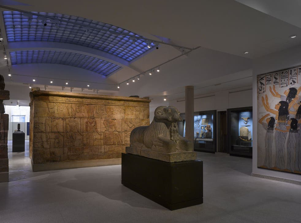 The new Egyptian gallery at the Ashmolean Museum