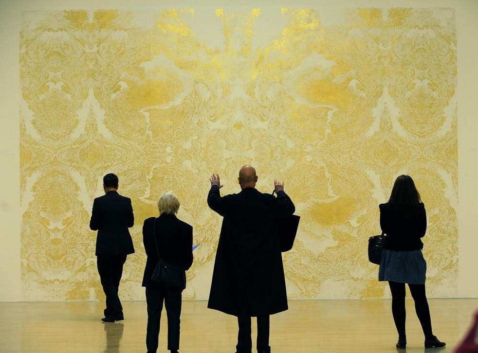 The big picture: visitors to Tate Britain