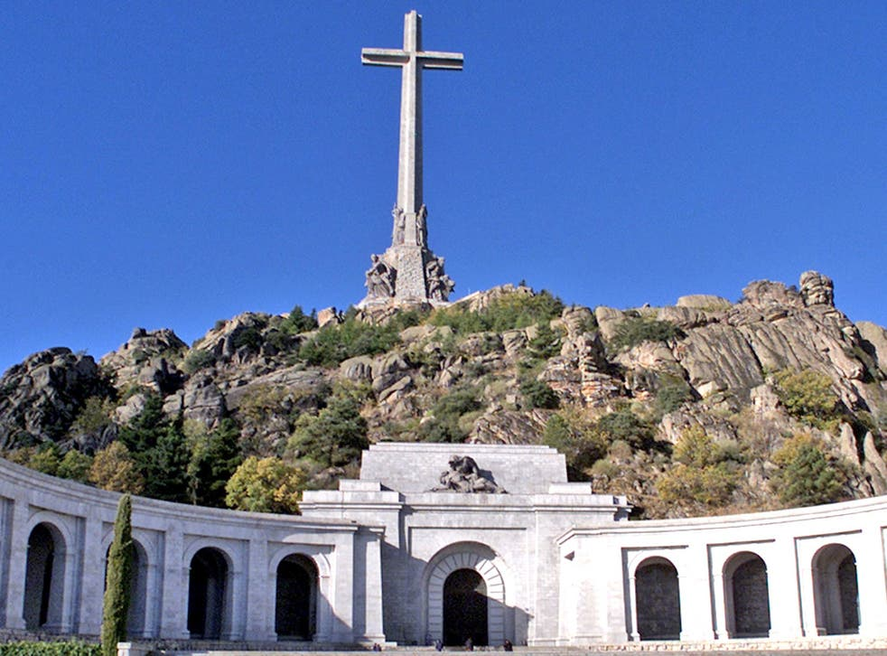 The cross at the Valley of the Fallen is a monument to General Franco