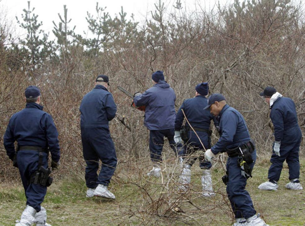 The victims' remains were found on Long Island