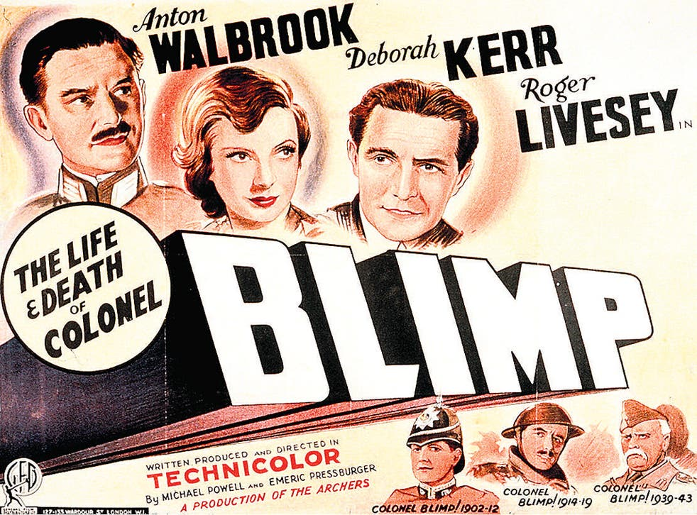 Epic of an ordinary life: the original poster for 'The Life and Death of Colonel Blimp'