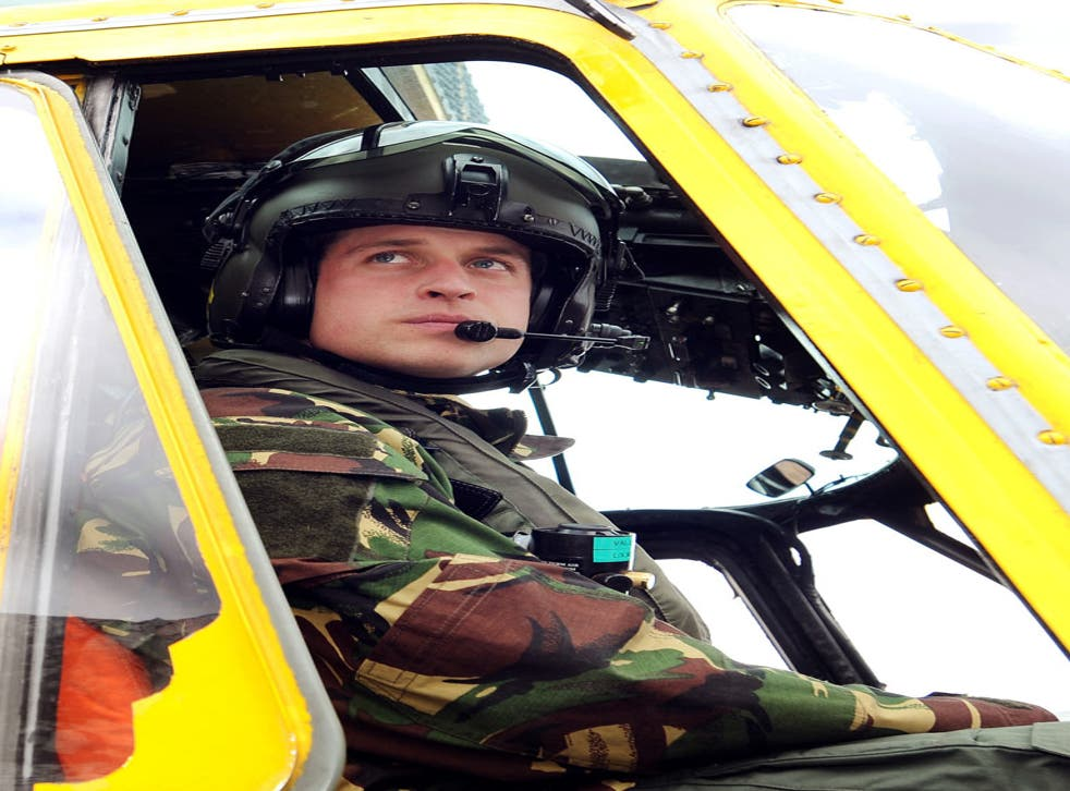 Could Prince William make a return to the pilot's chair?