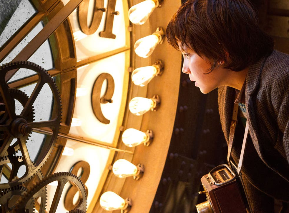 Enough said: Asa Butterfield plays an orphan waif in Thirties Paris in this flawed homage to the silent era