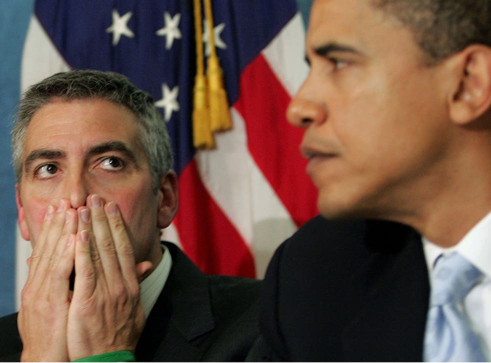 George Clooney was one of Barack Obama's most fervent supporters in the run-up to the 2008 election