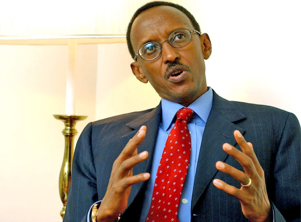 President Paul Kagame condemned the use of the skin-whitening products in November