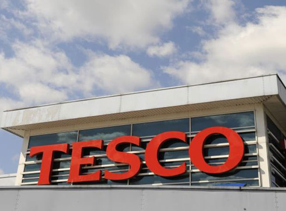 Tesco 's UK and Ireland sales jumped 8 per cent in the first half of its financial year