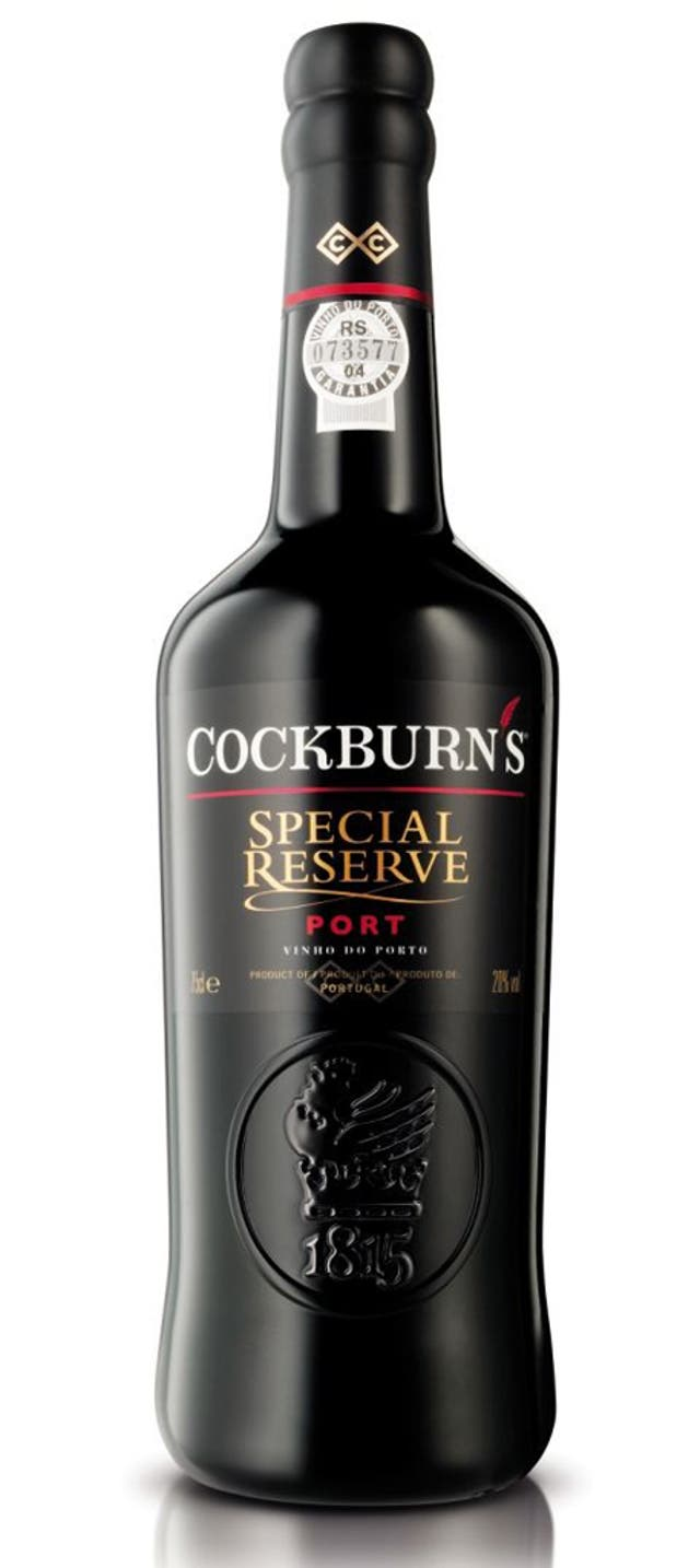 <p>1. Cockburn's Special Reserve</p>  <p>£8.75, morrisons.co.uk</p>  <p>The biggest selling port in the UK. Its rich and concentrated aromas of red fruits – predominantly red cherry – is particularly tasty.</p>