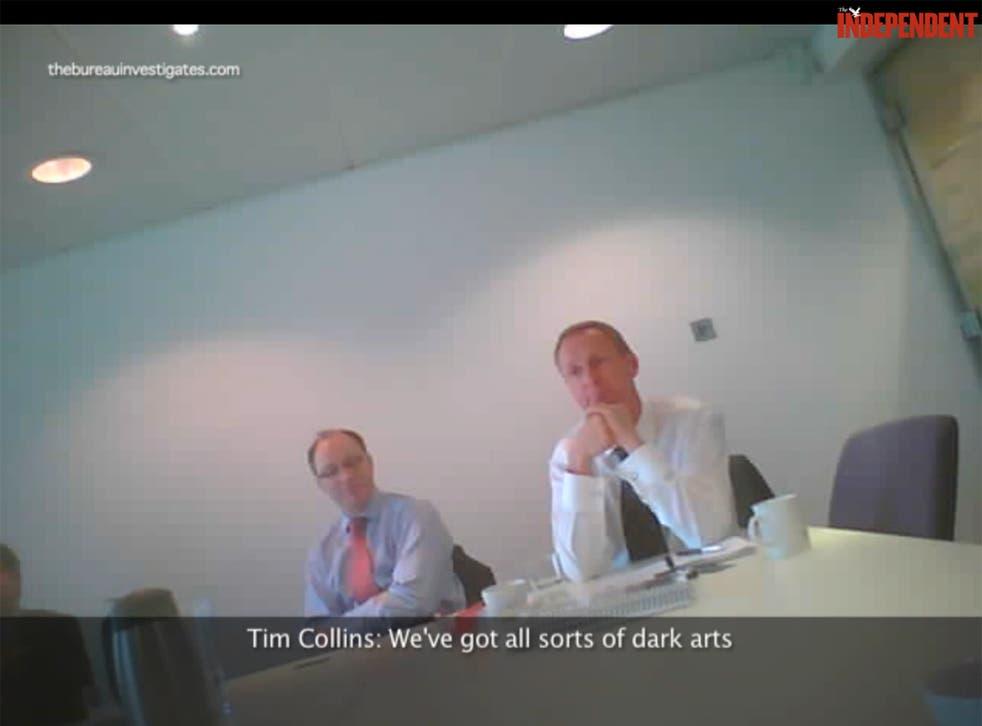 Caught out: senior Bell Pottinger executives brag of their 'dark arts'