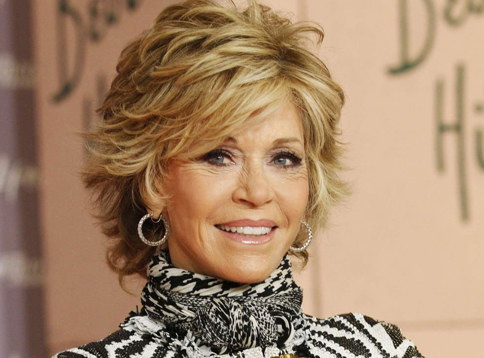Jane Fonda extols exercise but tops up with surgery
