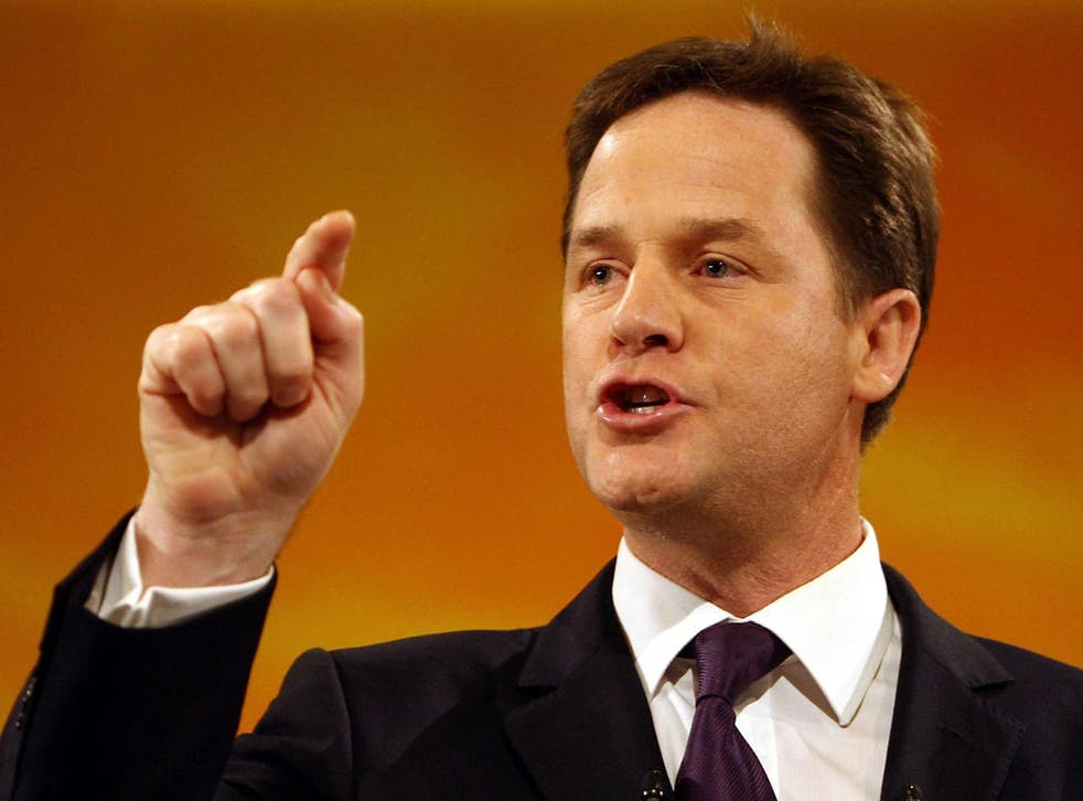 Nick Clegg is demanding a 'tax the rich' Budget in March