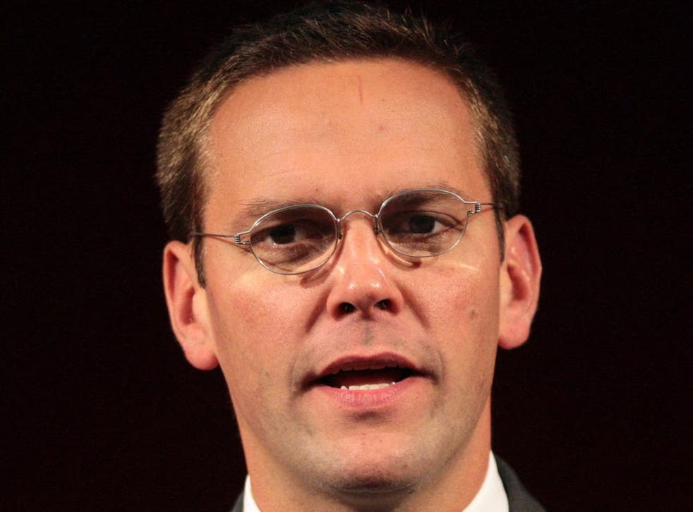 James Murdoch told the House of Commons Culture Committee that he did not read the email exchange forwarded to him by the paper's then editor Colin Myler