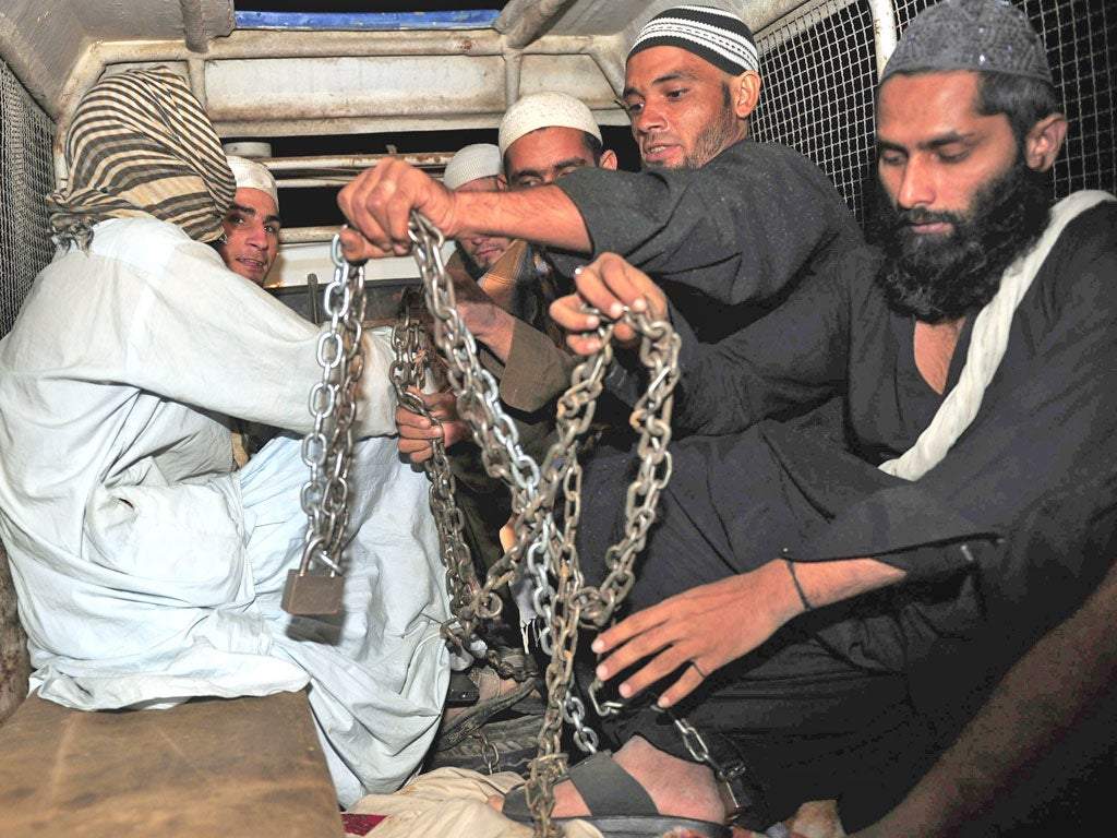 Boys freed from madrassa that held them prisoner in chains | The