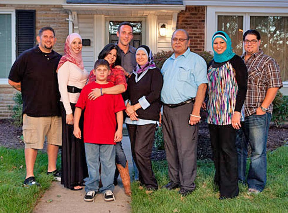 The Amen family from the 'All-American Muslim' reality television show from which Lowe's pulled its advertising on the advice of a fringe group