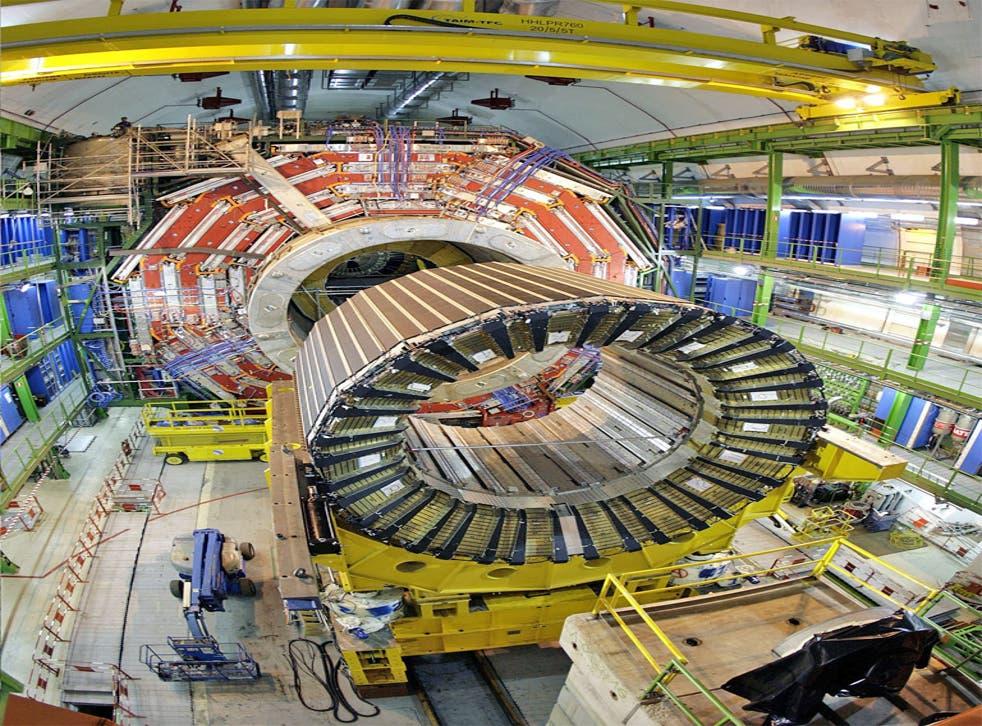 The Large Hadron Collider in Geneva, Switzerland