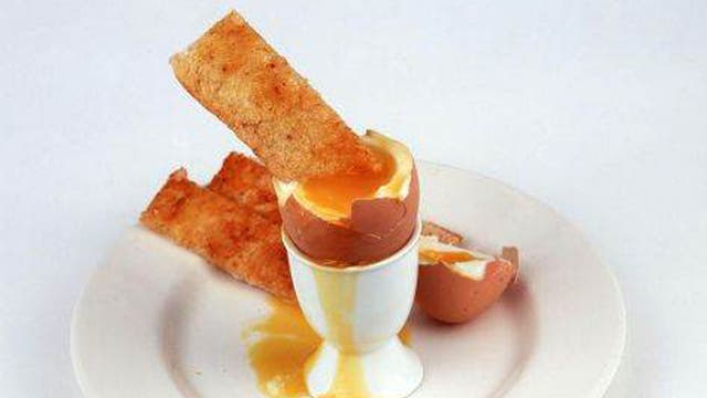 <p>Egg - for Tristan Welch's special egg and soldiers</p>