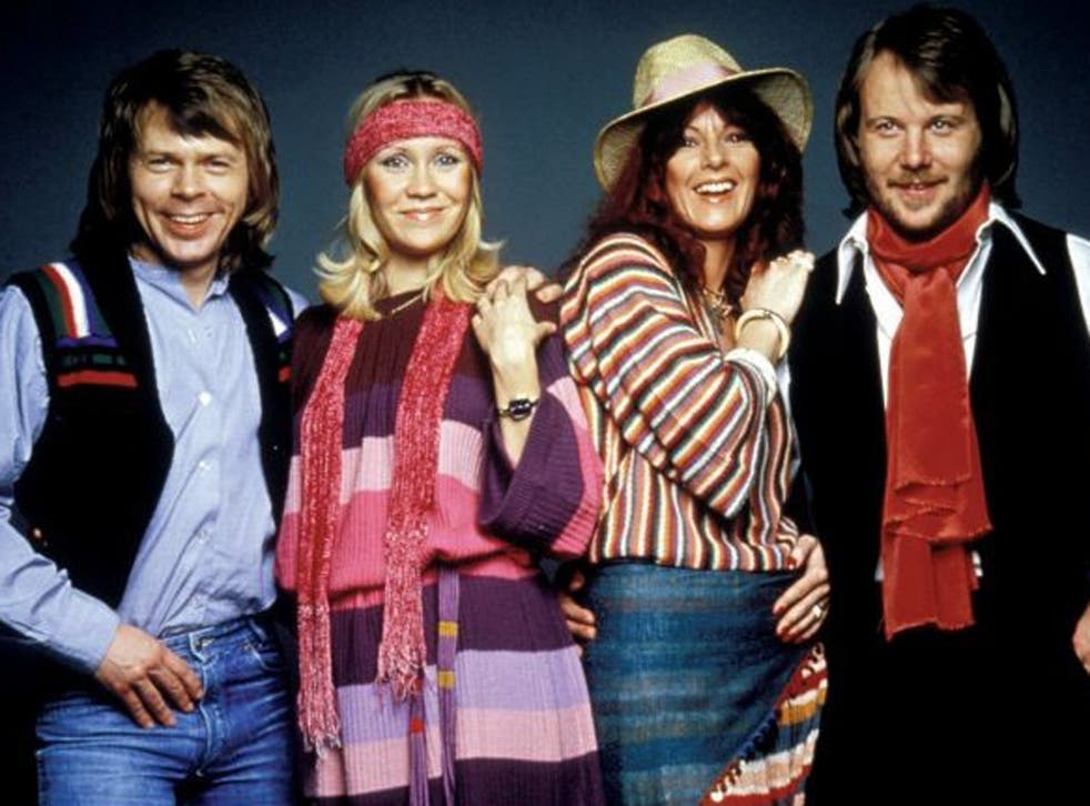 <p>Pop group ABBA (pictured) were kept off the top spot by Pink Floyd's 'Another Brick in The Wall'</p>