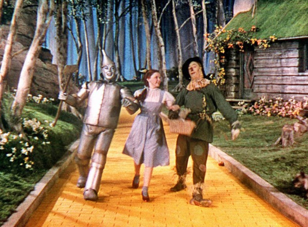 The re-created Yellow Brick Road in North Carolina is three quarters of a mile long