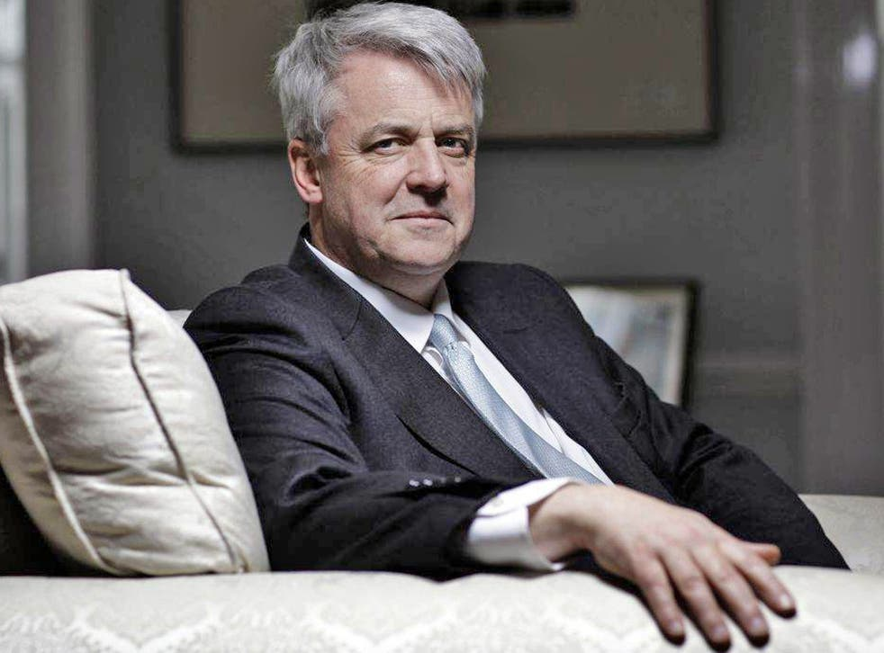 <p>His Bill is still staggering through Parliament, but Andrew Lansley is a picture of relaxation in his Whitehall office</p>