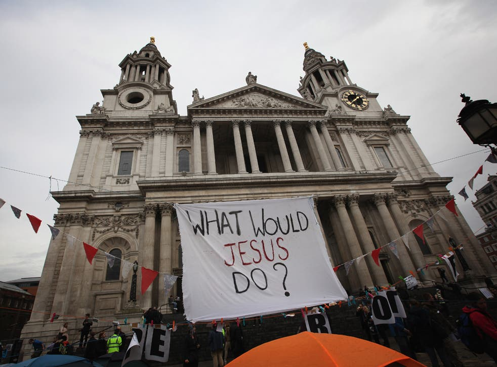 <p>Occupy London protesters will be leaving St. Paul's early next year</p>
