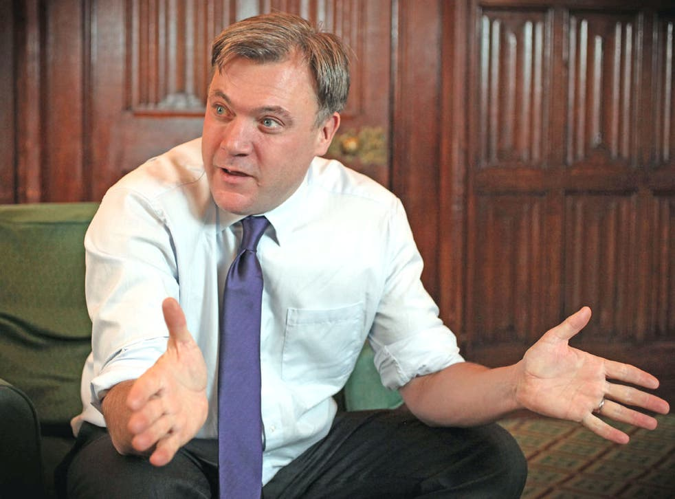 <p>Ed Balls says there will be no spending spree for the next Labour government</p>