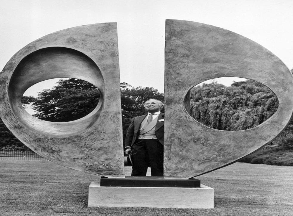 <p>The theft of Two Forms (Divided Circle) by Barbara Hepworth has been described as 'devastating'</p>