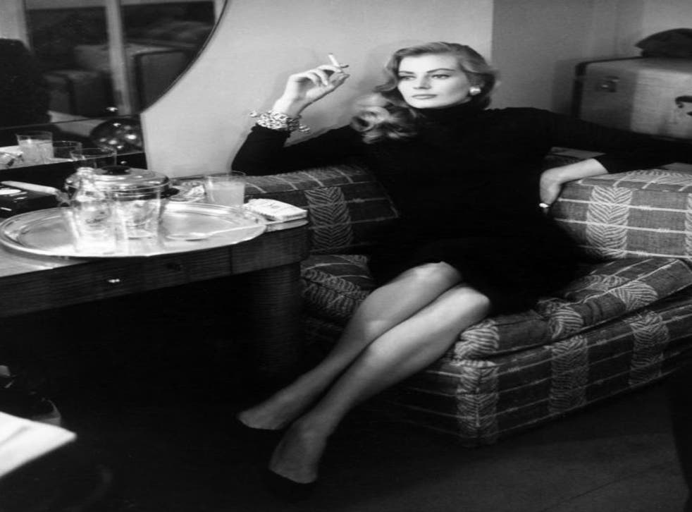 Far From La Dolce Vita Broke And Alone Ekberg Cries For Help The Independent The Independent
