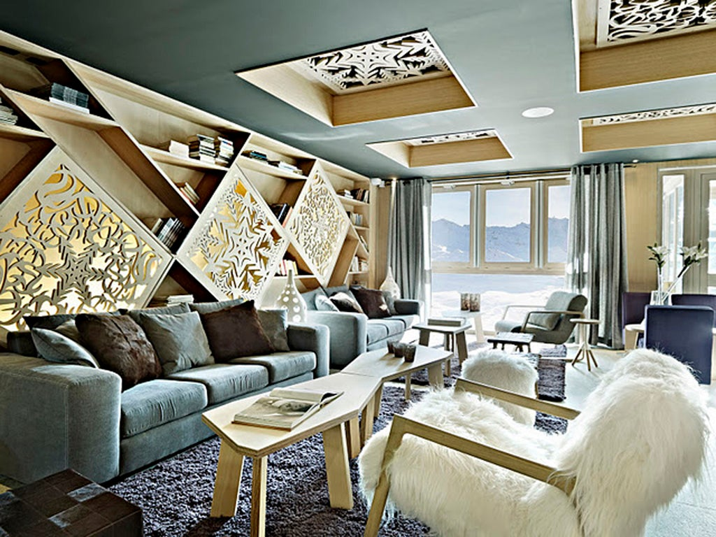 The big six luxury ski hotels the independent for Luxury independent hotels