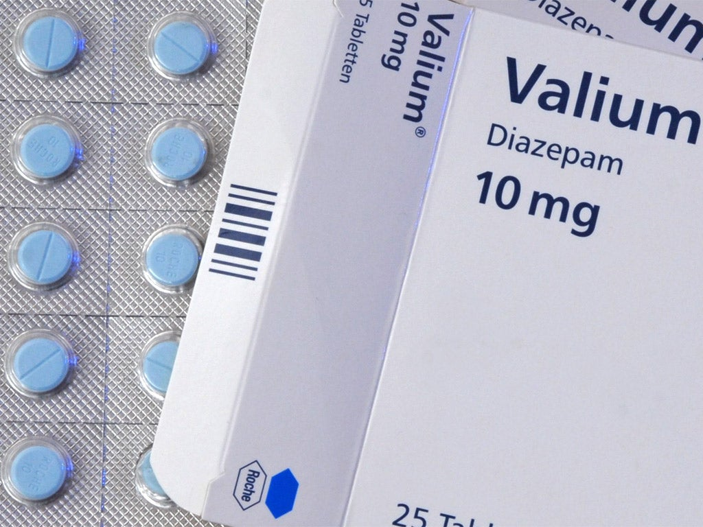 who should use valium 100